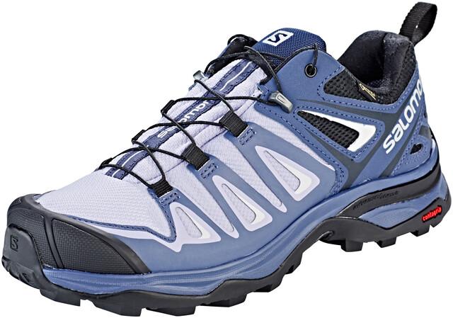 Salomon X Ultra 3 GTX Hiking Shoes Women languid lavender/crown blue/navy  blue
